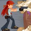 Зомби девушка с пистолетом