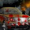 Давить зомби на машине
